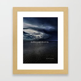 Hurricane Season Framed Art Print