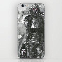 spirit of war (2): samourai warrior iPhone Skin
