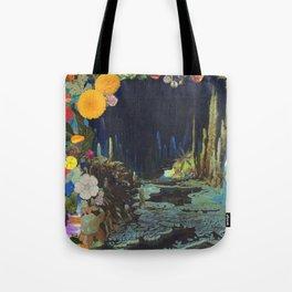 Cave Garden II Tote Bag