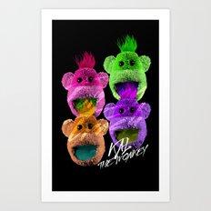 Kal the Monkey - Kal Warhol Art Print