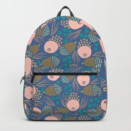November Born - acorn pattern Backpack