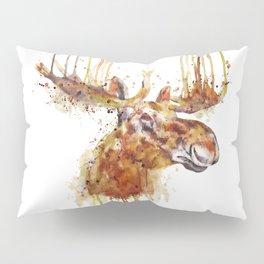 Moose Head Pillow Sham