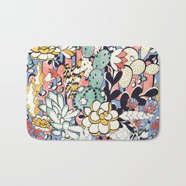 Blue Sky Succulents Bath Mat