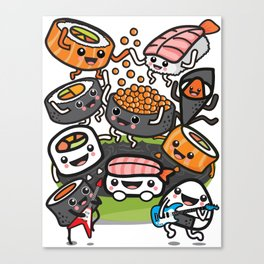 Sushi Rock Canvas Print
