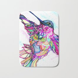 Illusion Fantasy in Flight Bath Mat