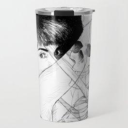 ANGST IN MY VEINS. Travel Mug