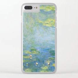 Water Lilies 1906 by Claude Monet Clear iPhone Case