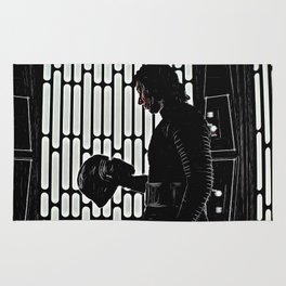 Kylo in the Dark Rug