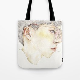 Blushing Yellow Tote Bag