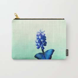 Blue bells on wings Carry-All Pouch