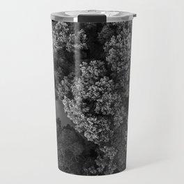 Monochrome Textures  |  Drone Photography Travel Mug
