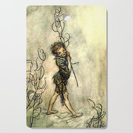 """""""Puck"""" by Arthur Rackham From Shakespeare Cutting Board"""