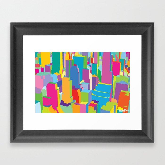 Cityscape Framed Art Print