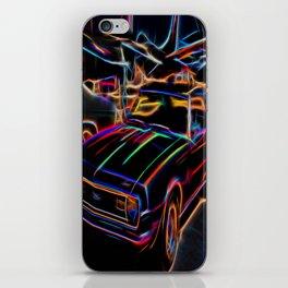 Neon Chevy Camaro iPhone Skin