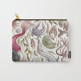 Mermaids and Sea Creatures Carry-All Pouch