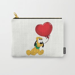 Cute Pluto with balloon Carry-All Pouch