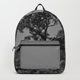 Two trees on the top of a mountain Backpack