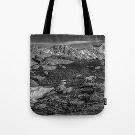 Mountain Goat at Twin Lakes Tote Bag