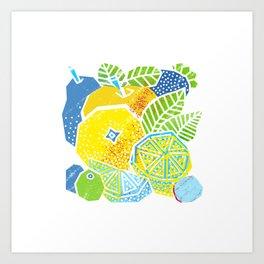 New Fruits Art Print