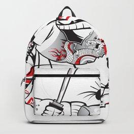 READY FOR BATTLE SAMURAI!! Backpack