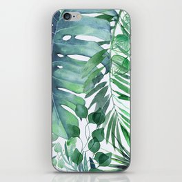 Tropical  Leaves iPhone Skin