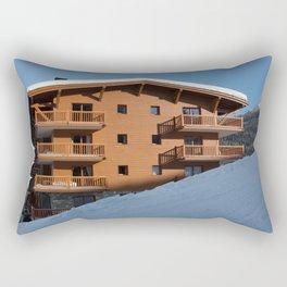 Mountain chalet, holiday home Rectangular Pillow