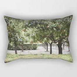 Granada Orange Tree Patio Rectangular Pillow