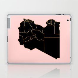 Libya map Laptop & iPad Skin