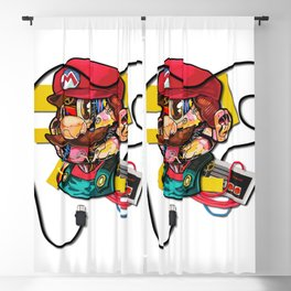 It's A Me Blackout Curtain
