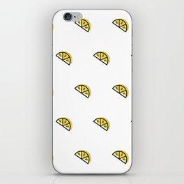Lemon Wedge iPhone Skin