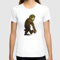 bigfoot T-shirts featuring Bigfoot by JoJo Seames