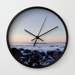 Refugio Beach Wall Clock