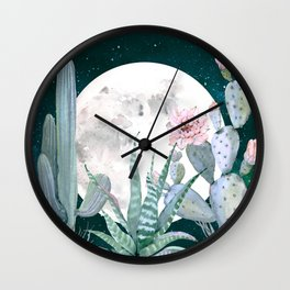 Desert Nights by Nature Magick Wall Clock