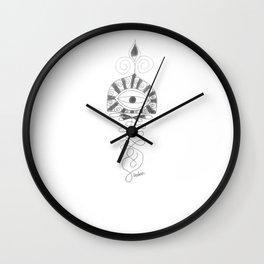 UnAlomes Wall Clock