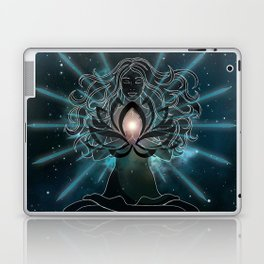 Emanate love Chakra Laptop & iPad Skin