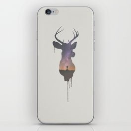 Deer Head V iPhone Skin