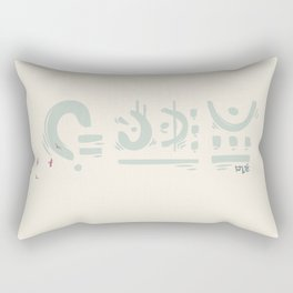 The Guardian Rectangular Pillow