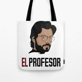LA CASA DE PAPEL tee shirt El Profesor Tote Bag