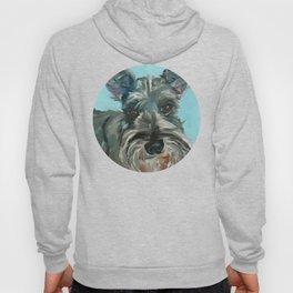Schnauzer Dog Portrait Hoody