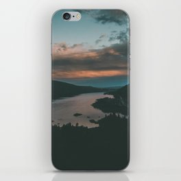 Columbia River Gorge Sunset iPhone Skin