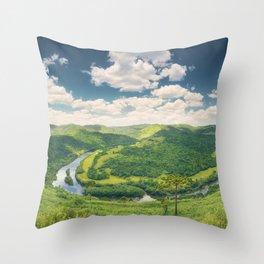 Pelotas Horseshoe Throw Pillow