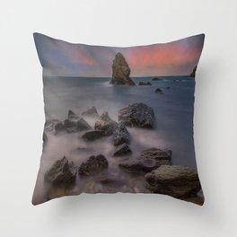Rhoscolyn Rocks Throw Pillow