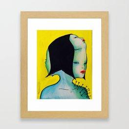 Evil Thoughts Framed Art Print
