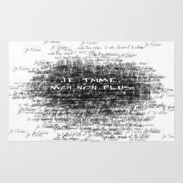 Je t'aime - Jane Birkin & Serge Gainsbourg Rug