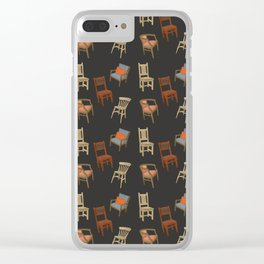 House of Chairs Clear iPhone Case