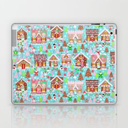 Gingerbread House Christmas Winter Candy, sweets.christmas gift, holiday gift for kids of all ages, Laptop & iPad Skin