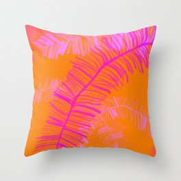 Tropical Palm Dream Throw Pillow