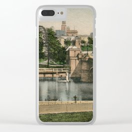 York general view and castle 1900 Clear iPhone Case