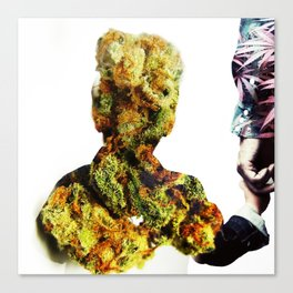 Weed is Life. Canvas Print