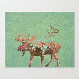 Moose Mountain Canvas Print